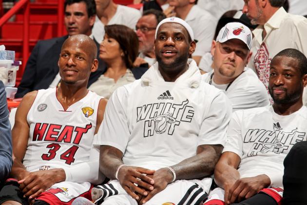 Miami Heat Call out Kevin Garnett, Paul Pierce over Ray Allen's Boston Departure