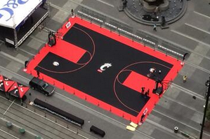 Photos: Cincinnati's Outdoor 'Midday Madness' Court Is Awesome