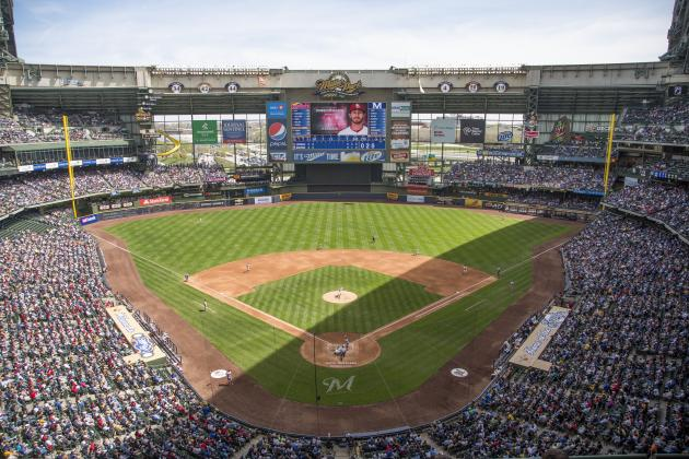 Milwaukee Brewers' Miller Park Receives New Fielding Surface