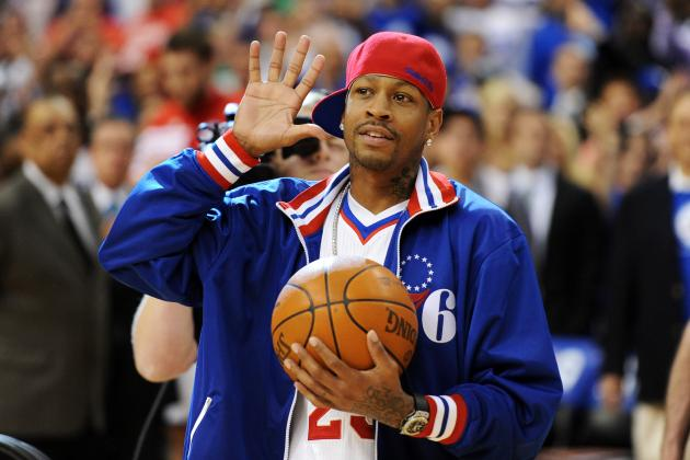 Allen Iverson to Reportedly Announce Retirement at Sixers 2013-14 Home Opener