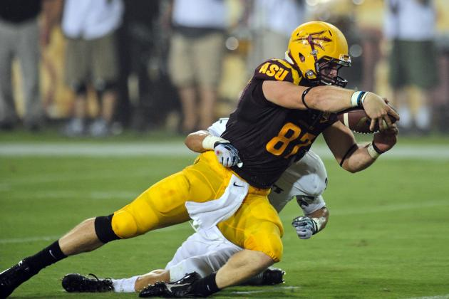 ASU's Chris Coyle: 'We've Got to Establish Run' vs. Washington