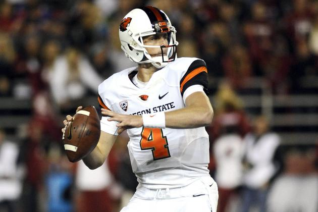 Cal's Goff Impressed with Oregon State QB Mannion