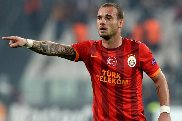 Chelsea Have Bigger Needs Than Galatasaray's Dutch Midfielder Wesley Sneijder
