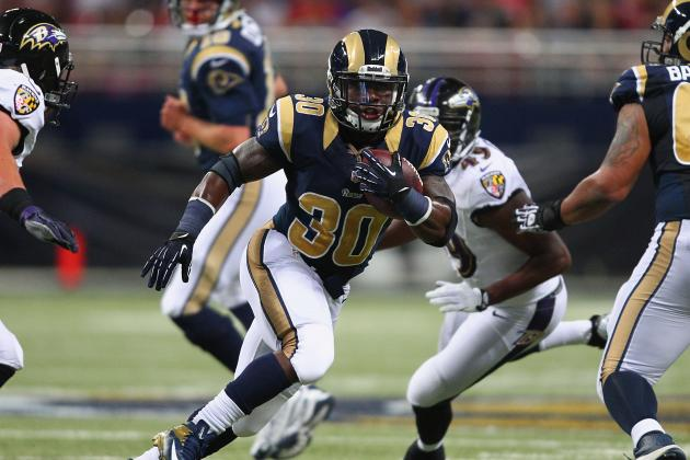 Stacy's Style Revs Up Rams' Rushing Attack