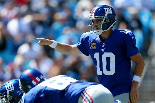 What to Expect from Manning, Giants' Offense in Week 7 Matchup