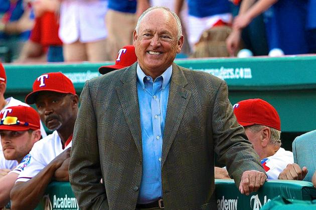 MLB Legend Nolan Ryan to Resign as Texas Rangers CEO