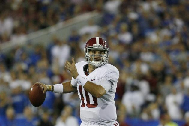 Alabama vs. Arkansas: Why AJ McCarron Could Have a Career Game vs. the Hogs