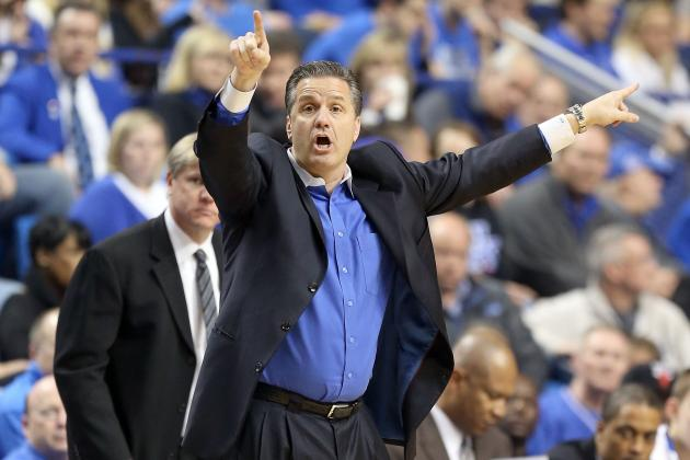 'The Eyes of College Basketball Are on Kentucky