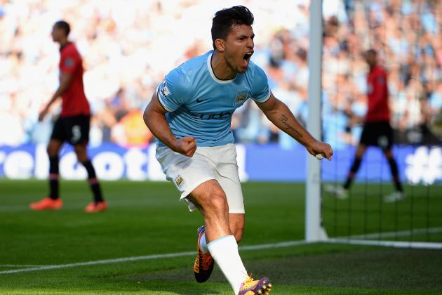 Complete Scouting Guide to Manchester City Striker Sergio Aguero