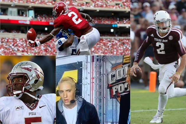 Top 5 GIFs from the First Half of 2013 College Football Season