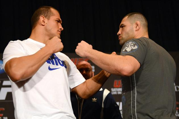 UFC 166 Weigh-in Results: Cain Velasquez vs. Junior Dos Santos Fight Card