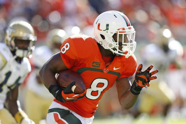 Duke Johnson Injury: Updates on Miami RB's Head, Likely Return Date