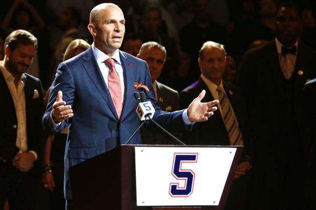 Jason Kidd's Jersey Retired by Brooklyn Nets