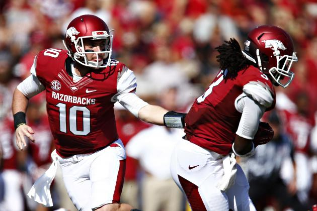 Arkansas vs. Alabama: Razorbacks Must Dominate Ground Game to Pull Massive Upset