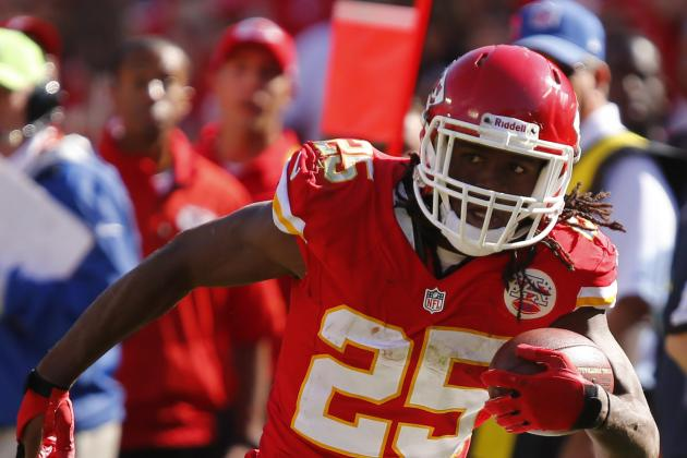 Jamaal Charles Carries the Load for Chiefs