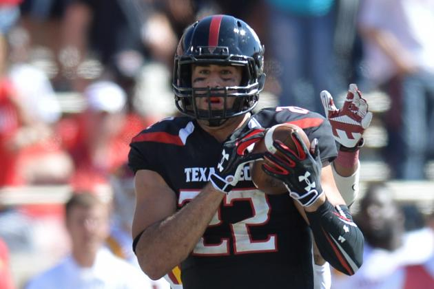 Texas Tech TE Jace Amaro Tweets He'll Return for Senior Season