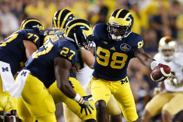 Michigan Desperately Seeking Running Attack: Return of the Spread?