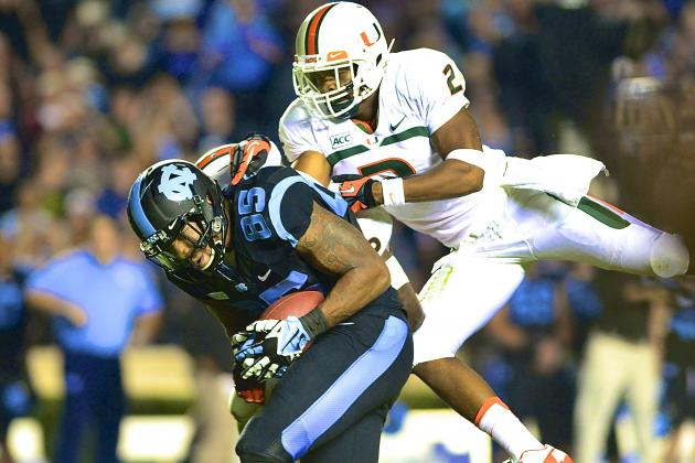 Miami vs. North Carolina: Live Score and Highlights