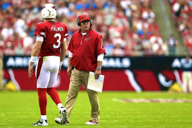 Carson Palmer and Bruce Arians Continue to Derail Arizona Cardinals' Season