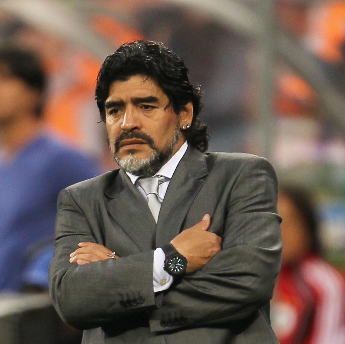 Lionel Messi retirement: Diego Maradona urges fellow ...  Maradona