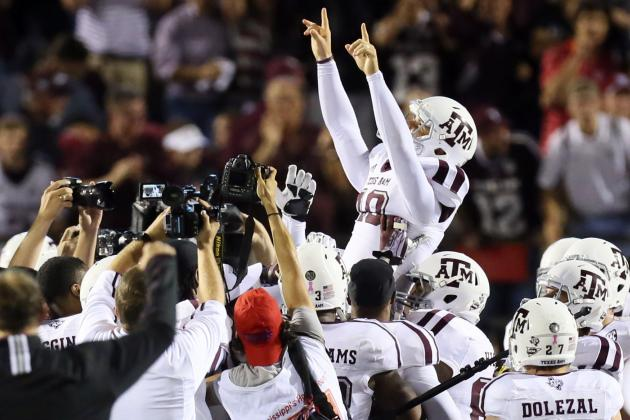 Texas A&M Football: Meet Josh Lambo, the Soccer Player Who Saved Aggies' Season