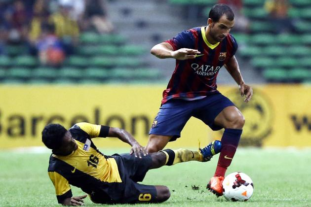Martin Montoya Reportedly Lined Up by Liverpool for Transfer from Barcelona