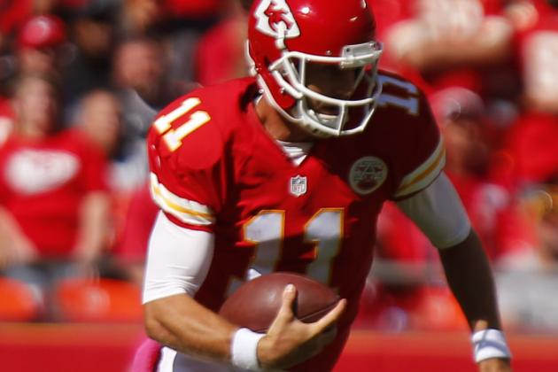 Chiefs' Selfless Smith Not Fretting About His Numbers