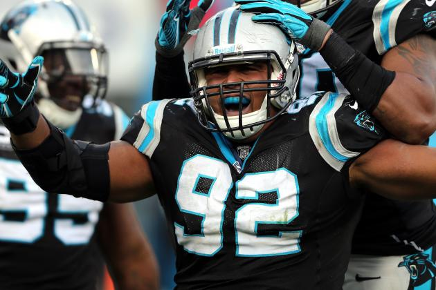 Carolina Panthers' Defensive Tackle Dwan Edwards Returns to Practice