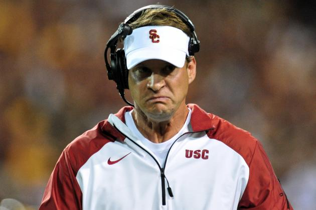 Lane Kiffin's Gone, but Brian Kelly Says USC Hasn't Changed Much