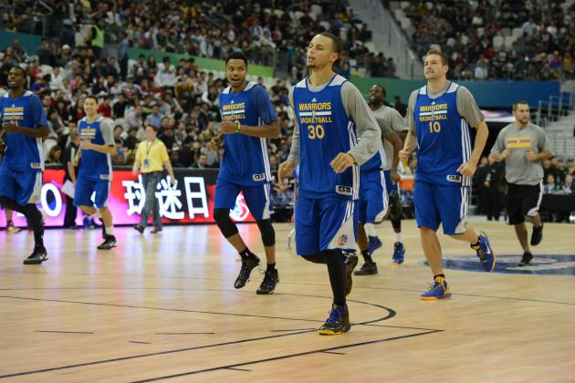 Golden State Warriors Have Special Jersey for Chinese New Year in the Works