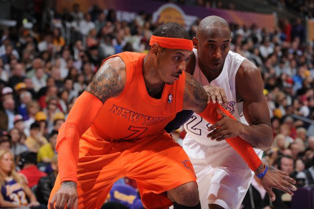 Should LA Lakers Pursue Carmelo Anthony-Kobe Bryant Pairing in 2014 Offseason?
