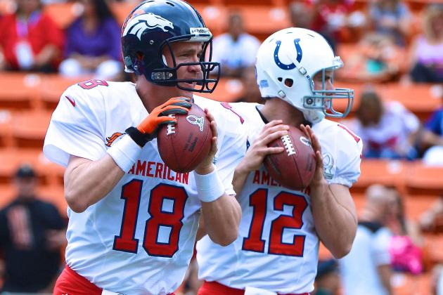 Manning vs. Luck: Breaking Down the Present and Future of QB Position