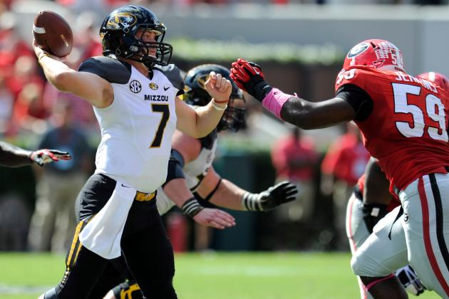 Maty Mauk, Mizzou Say They're Up for Florida Challenge