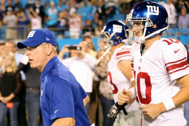 Coach Coughlin Stands by QB Eli Manning