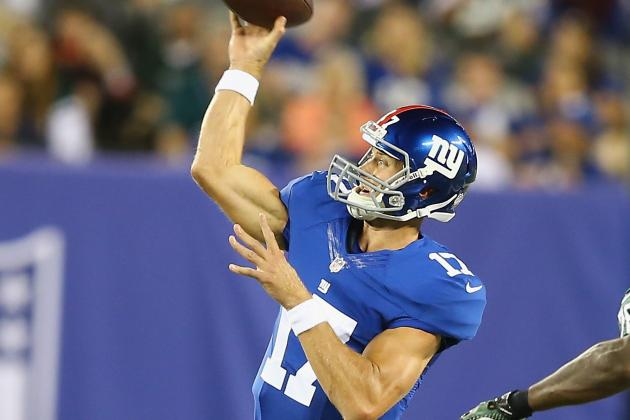 Eli Manning's Backup Knows Manning Should Not Be Benched