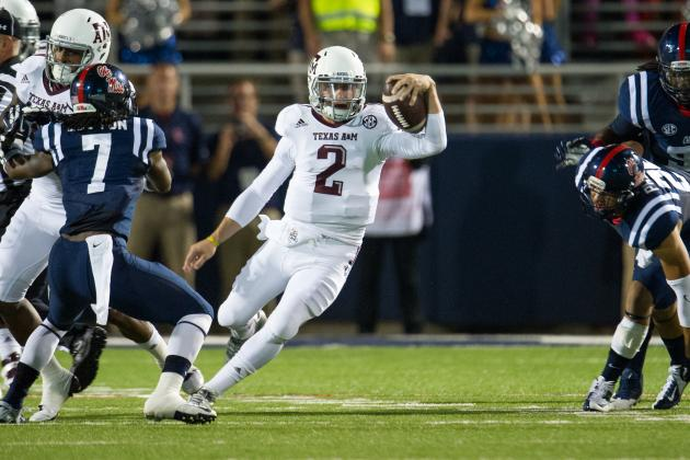 Manziel in Same Category as AU's Newton