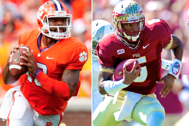 Florida State vs. Clemson: Comparing Jameis Winston and Tajh Boyd
