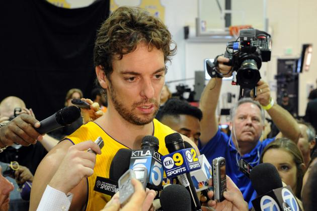 Lakers Rumors: LA Won't Get Enough Value to Justify Trading Pau Gasol