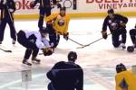Video: Sabres End Practice with Dance-Off, Twerking