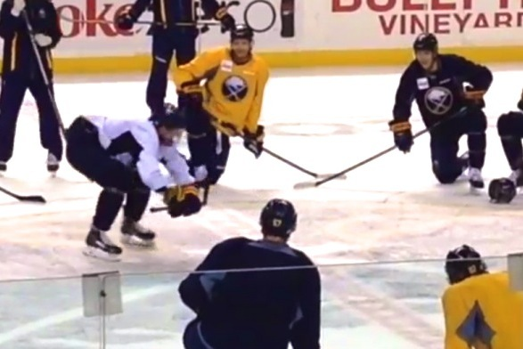 Buffalo Sabres Rookies Have Dance-off After Practice, Complete with Twerking