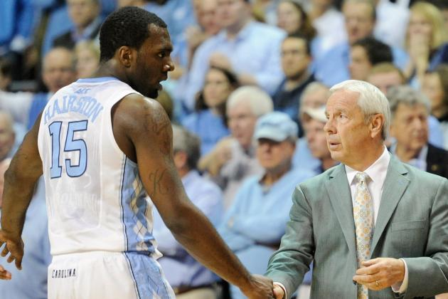 Roy Williams Says NCAA to Have Say in Length of P.J. Hairston Suspension