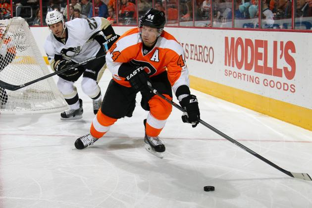 Philadelphia Flyers' Kimmo Timonen Day-to-Day with Lower-Body Injury