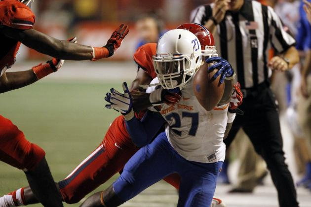 Boise State Looking for More from Running Backs