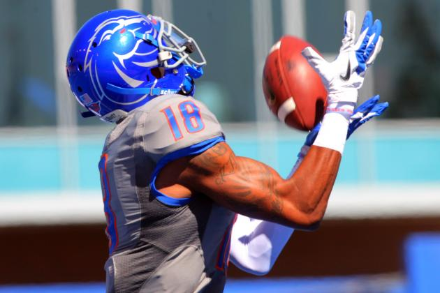 BSU Football Notebook: Burks Return Big for Offense