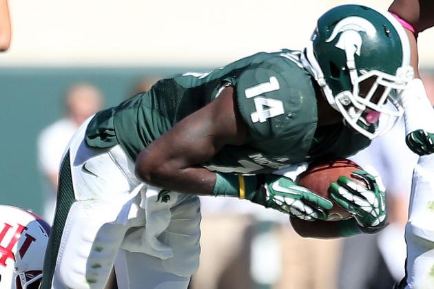 Michigan State WR Tony Lippett Emerges as Factor on Field Despite Slow Start