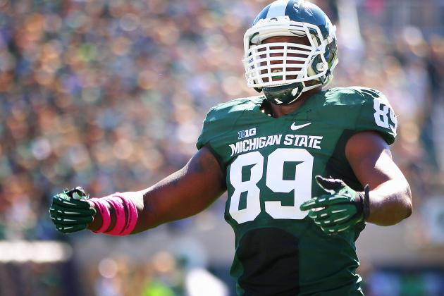 Shilique Calhoun Supremely Confident About Michigan State's No. 1 Defense