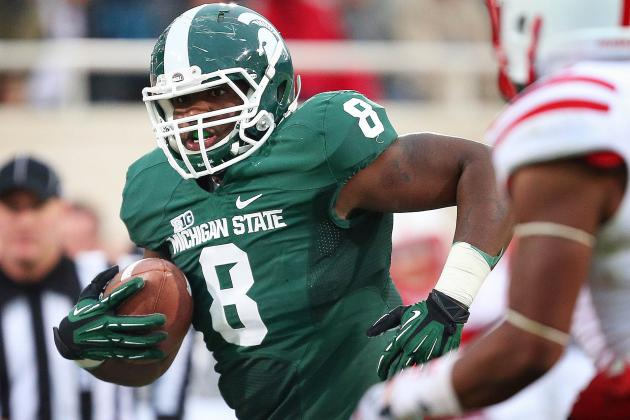 Thomas Hopes Return Helps Spartans Run for Rose Bowl