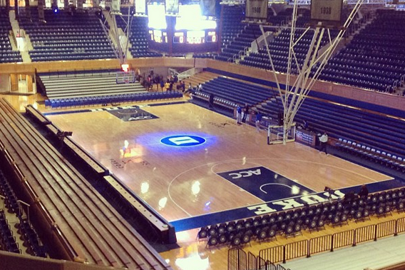 Calm Before the Storm at Cameron Indoor