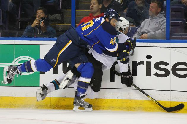 Video: Blues' Lapierre Suspended 5 Games for Boyle Hit