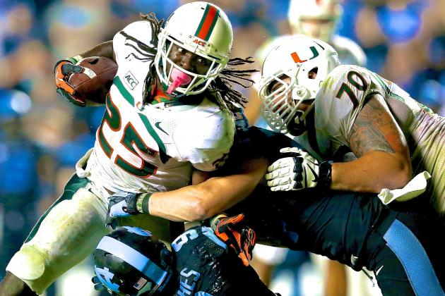 Dallas Crawford Proves Miami Is a Running Team as Stephen Morris Tanks